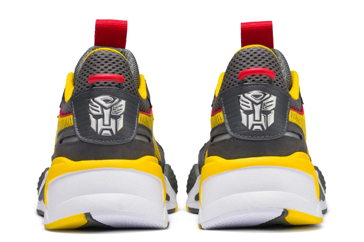Hasbro x Puma RS-X Transformers 'Bumblebee' (Heel)