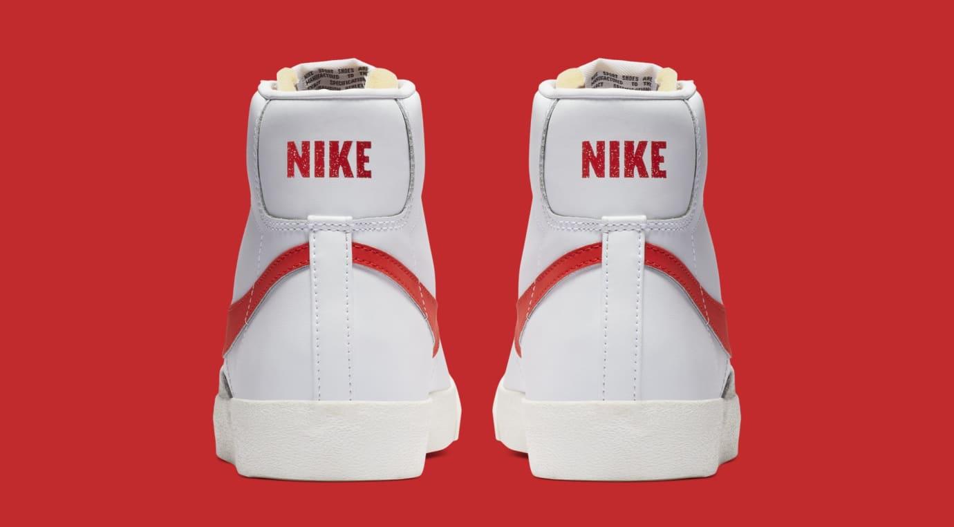 1efccd746055 Image via Nike Nike Blazer Mid  77  Habanero Red  BQ6806-600 (Heel)