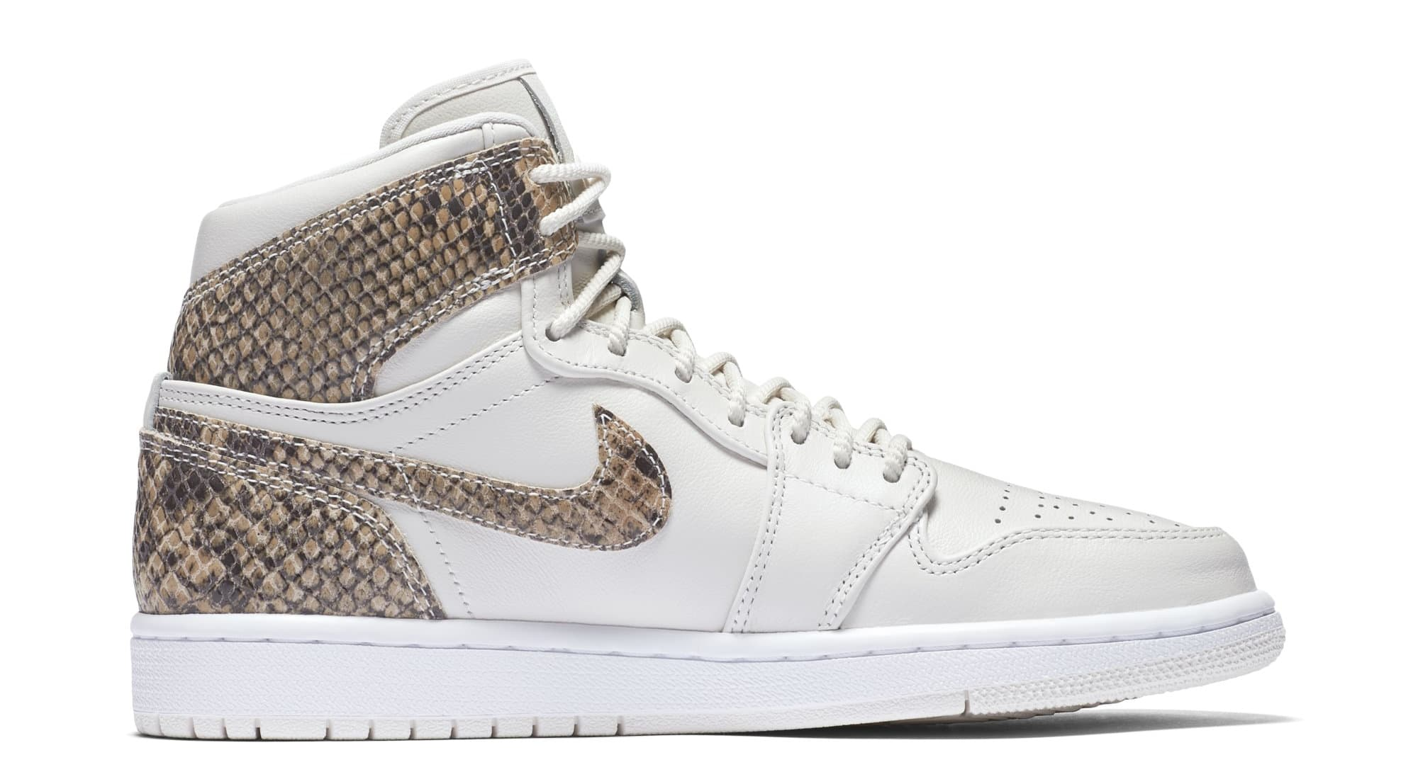 Air Jordan 1 Retro High Premium Women's Snake 'Phantom/White' AH7389-004 (Medial)