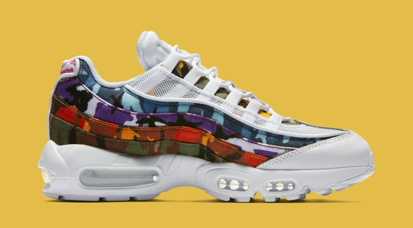 21d4caed61 Nike Air Max 95 ERDL Party Multi Color Camp White Black | Sole Collector