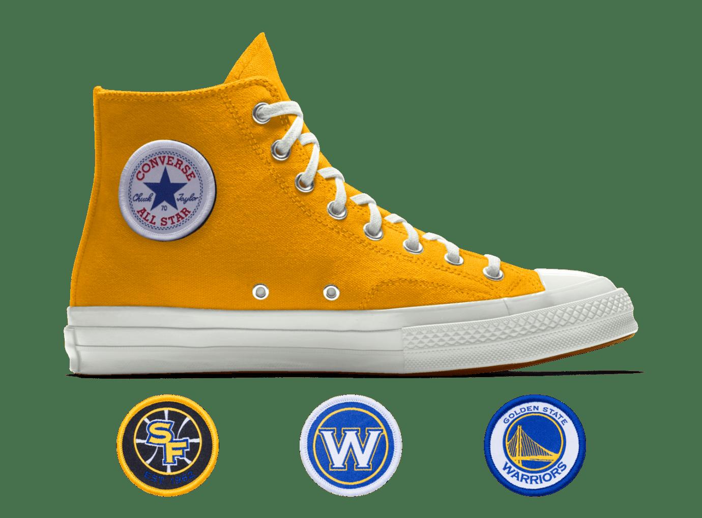 181928a681b Image via Converse Converse Custom Chuck 70 NBA Golden State Warriors