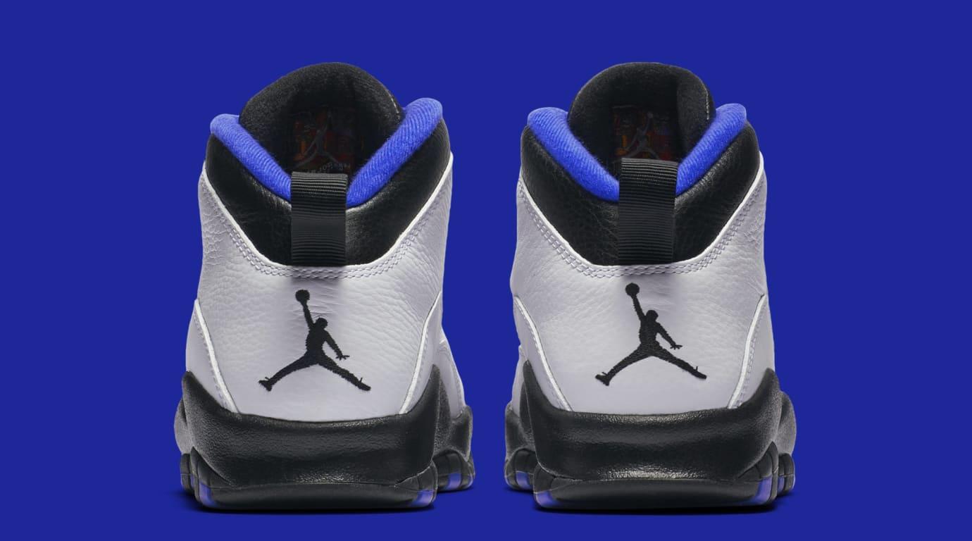 bf0728e882b4 Image via Nike Air Jordan 10  Orlando  310805-108 (Heel)