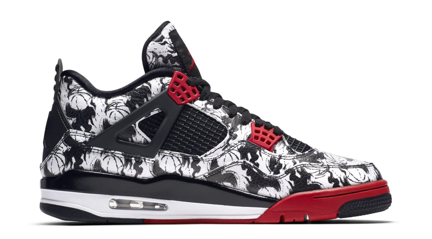 sale retailer 0c364 3e662 Image via Nike Air Jordan 4 Retro  Tattoo  BQ0897-006 (Medial)