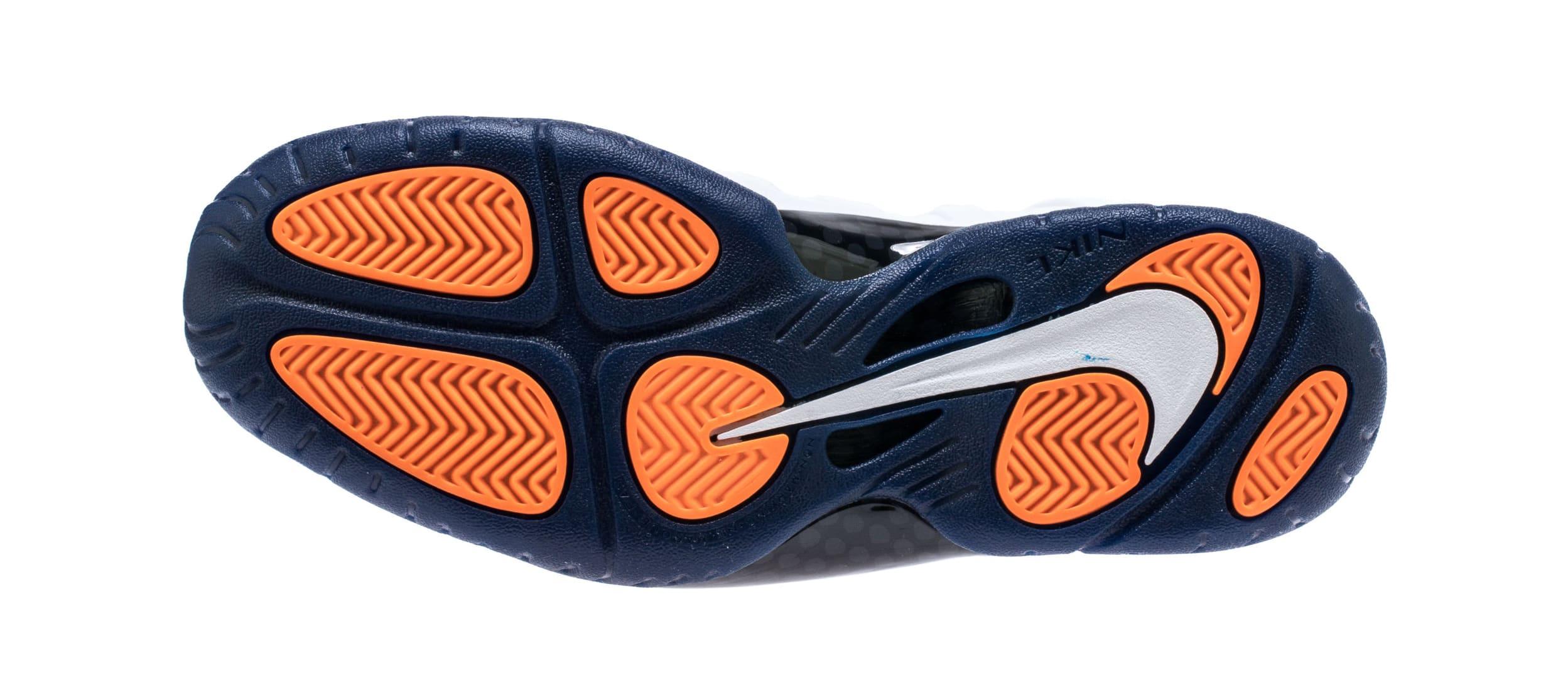 Nike Little Posite Pro 'Gym Blue' 644792-404 (Bottom)