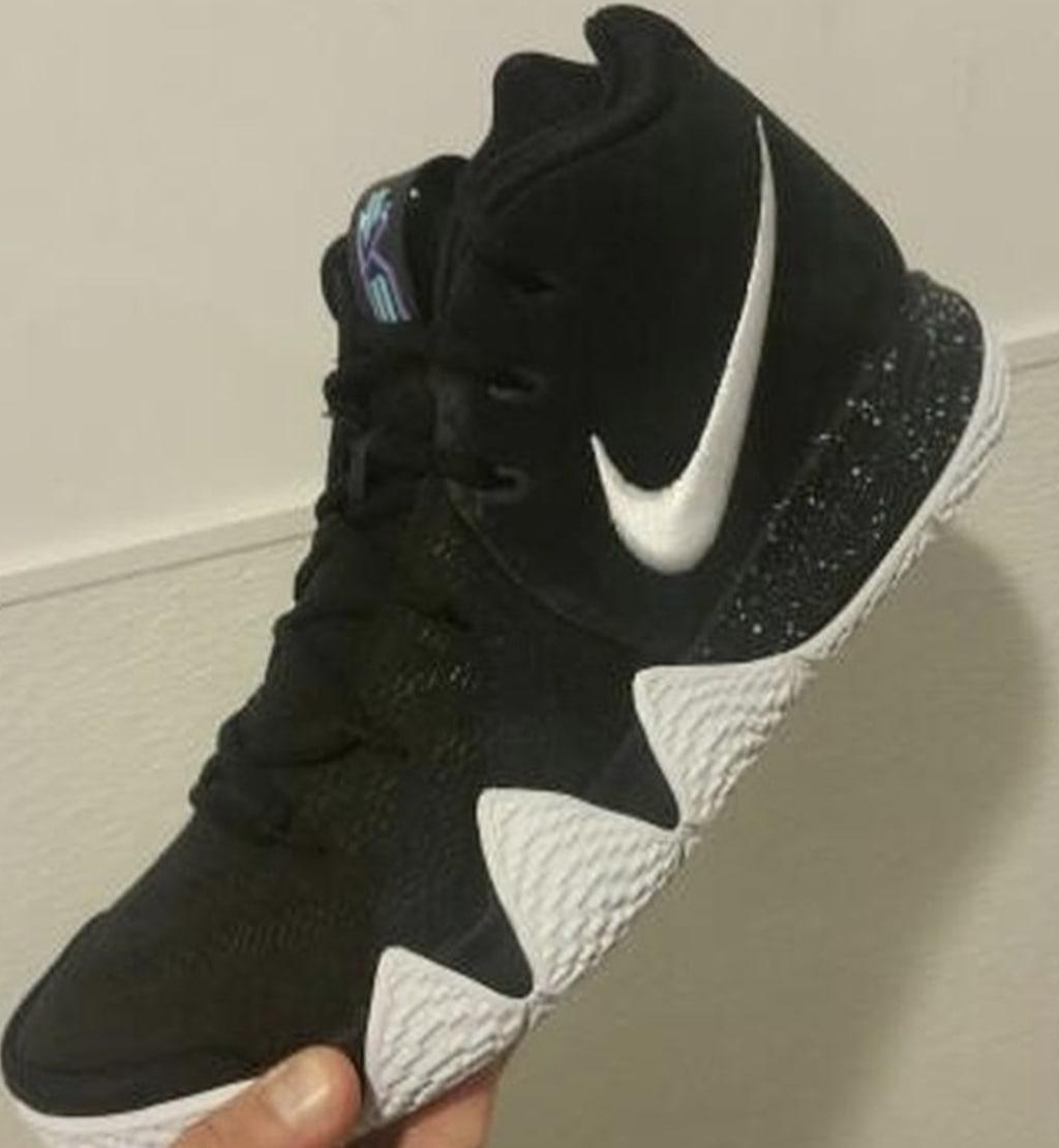 Nike Kyrie 4 Black/White 1