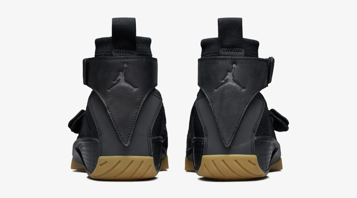 quality design d4391 0e880 Image via US11 · Air Jordan 20 Flyknit  Melo Black Gum  (Heel)