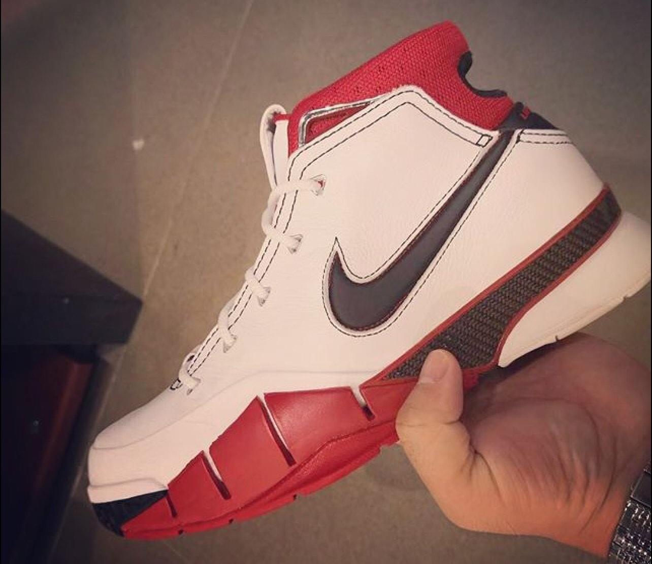 cfaf7d715578 Image via Hupu · Nike Zoom Kobe 1 Protro All-Star Release Date AQ2728-102  Profile