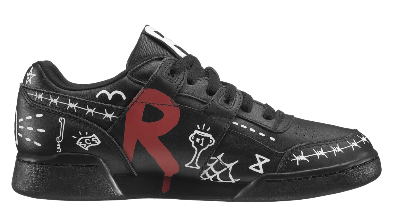 5fdb67f7dde0 Trouble Andrew x Reebok Workout Plus  3 AM  Black Available Now ...