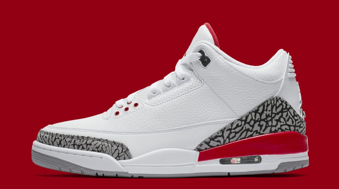 Cerebro Vergonzoso realeza  Katrina Air Jordan 3 Retro Release Date 136064-116 | Sole Collector