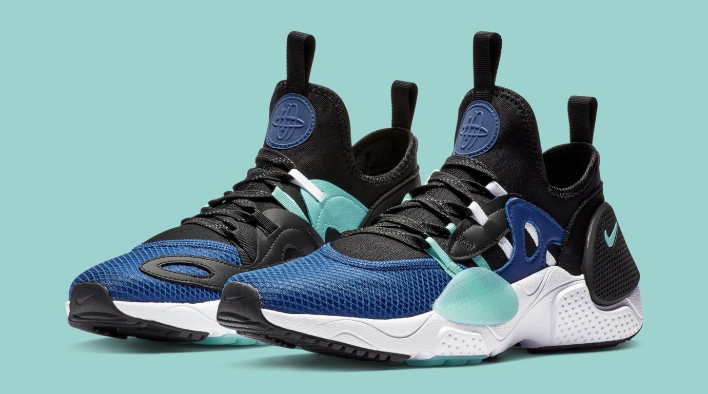 Nike Huarache E.D.G.E. TXT 'Indigo Force/Black' BQ5205-400 (Pair)