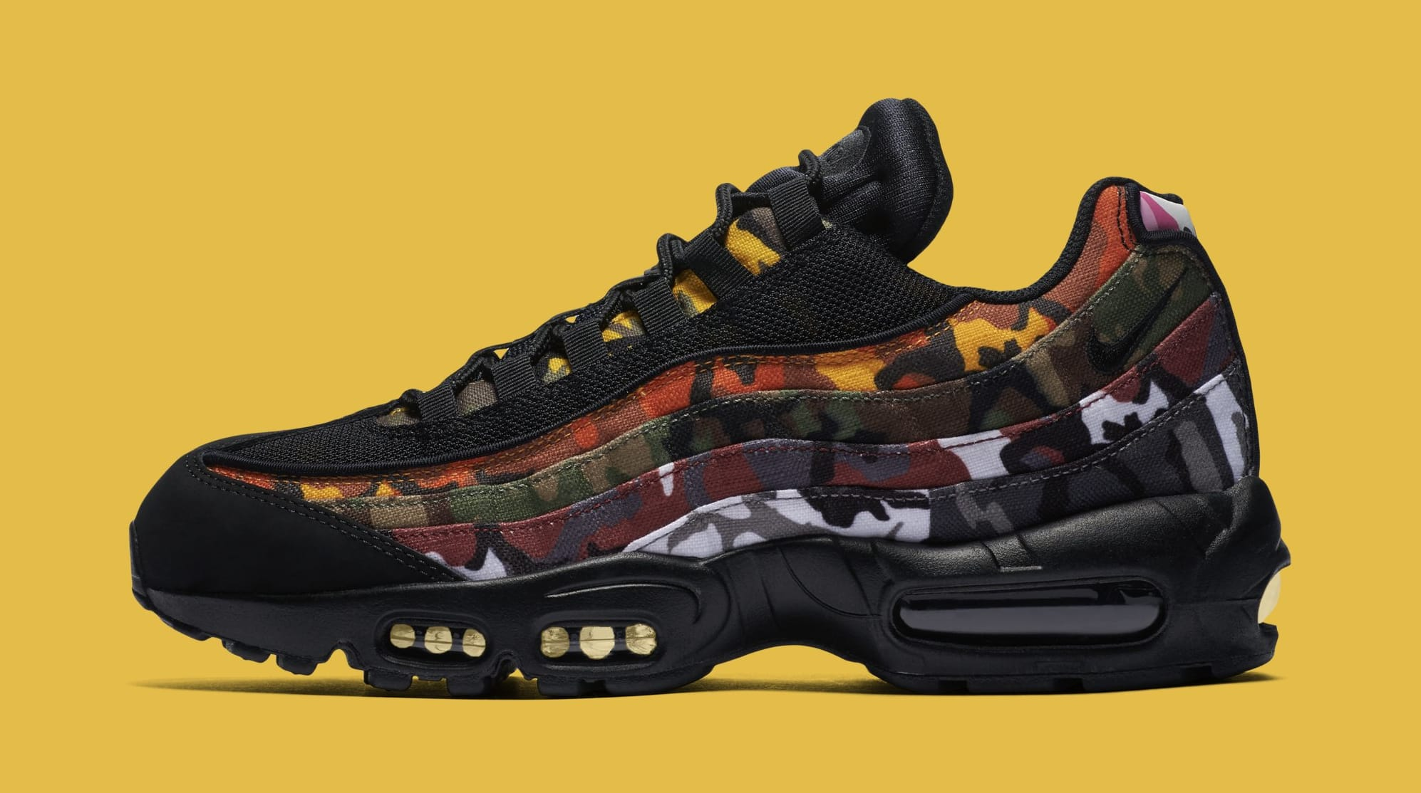ad69566bd52 Nike Air Max 95 ERDL Party Multi Color Camp White Black | Sole Collector