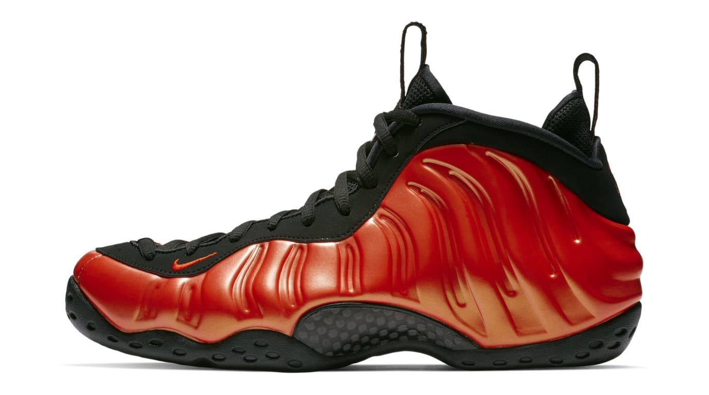 7e74586af9d71 Nike Air Foamposite One Habanero Red Black Release Date 314996-604 ...