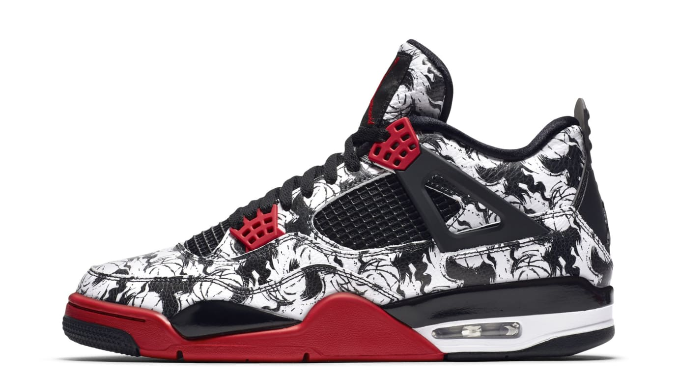 704be2496d6c Air Jordan 4 Retro  Tattoo  BQ0897-006 (Lateral)