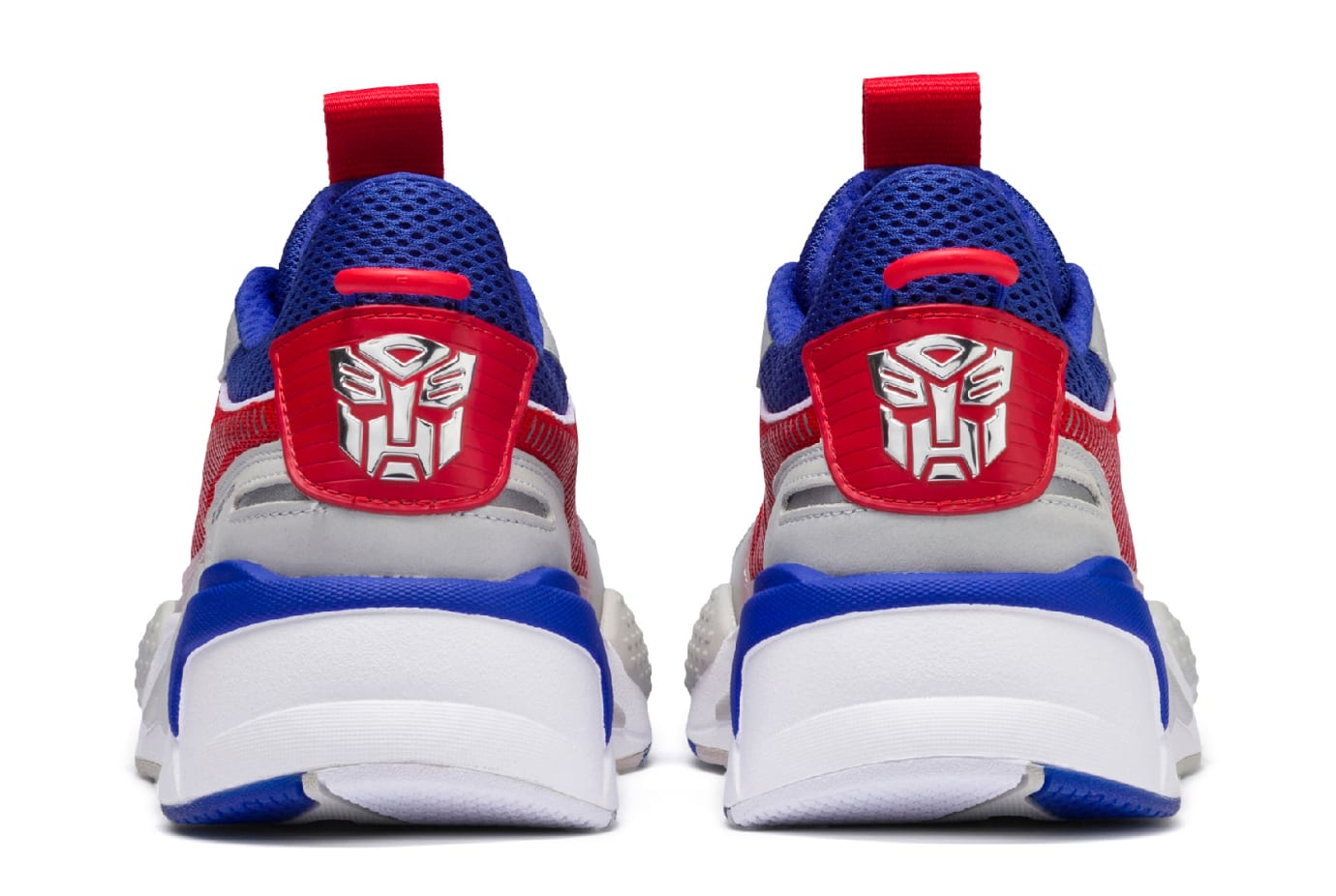 Hasbro x Puma RS-X Transformers 'Optimus Prime' (Heel)