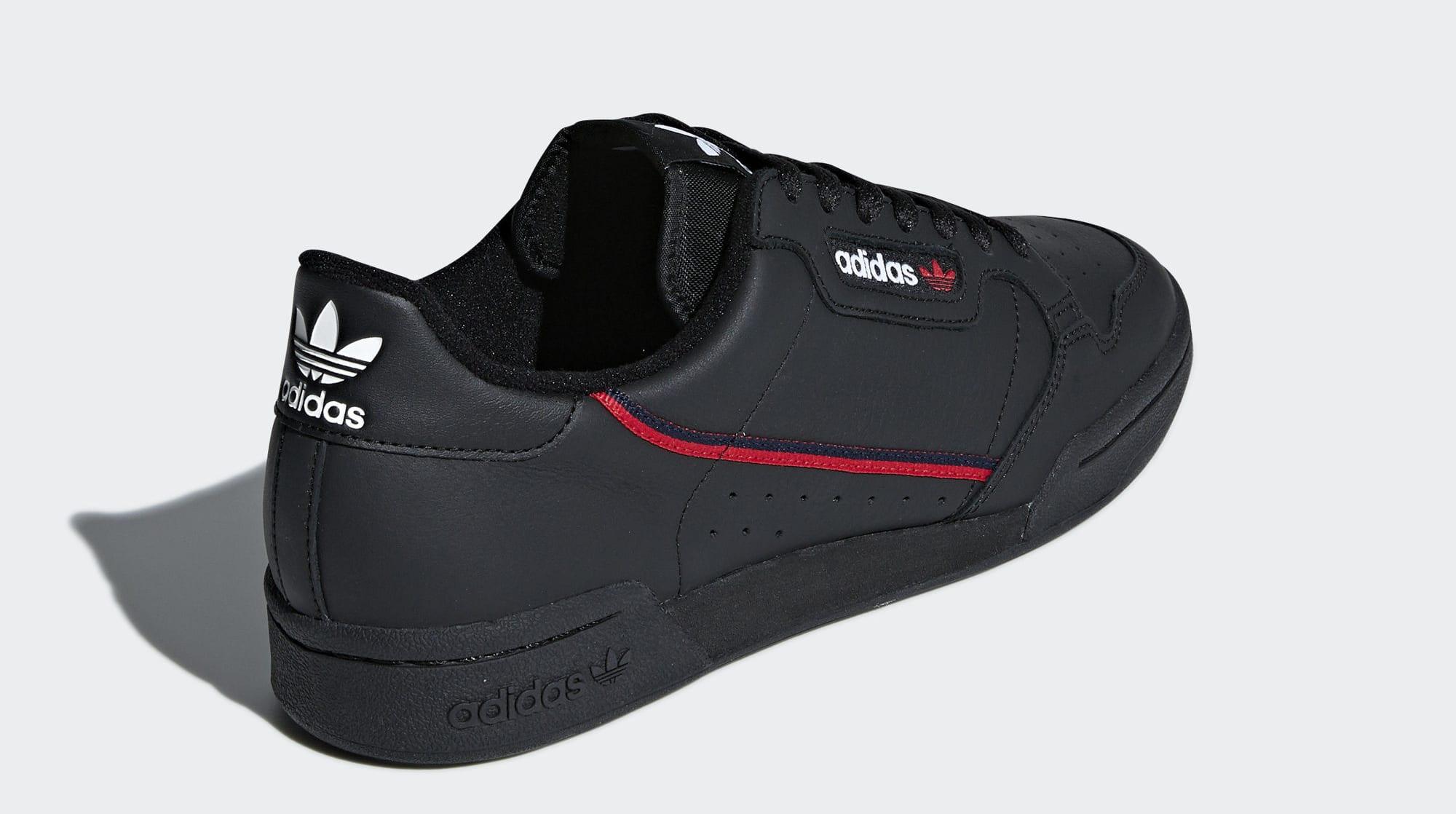 Adidas Continental 80 Rascal 'Black' B41672 (Back)
