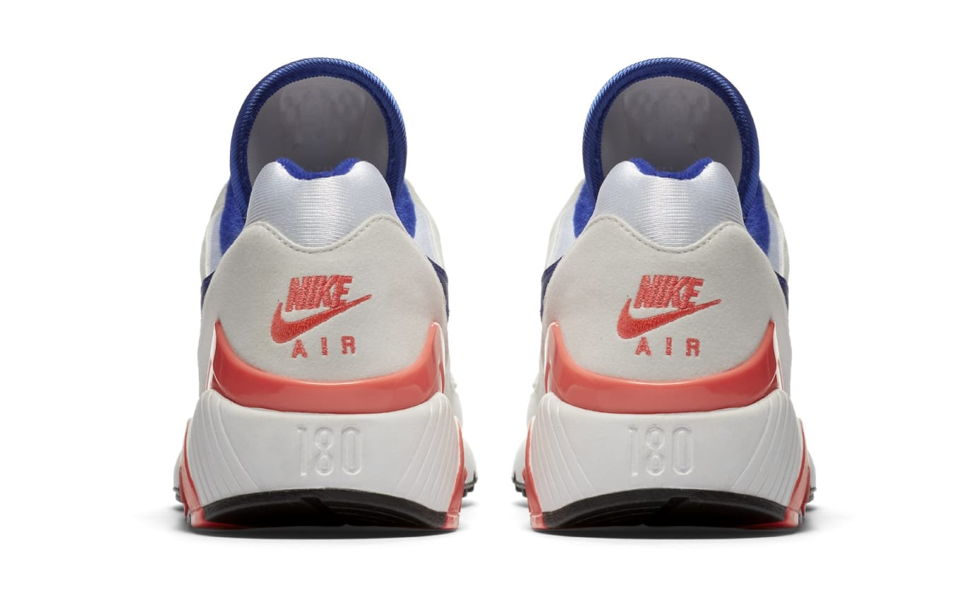 Nike Air Max 180 OG White/Ultramarine-Solar Red-Black 615287-100 (Heel)