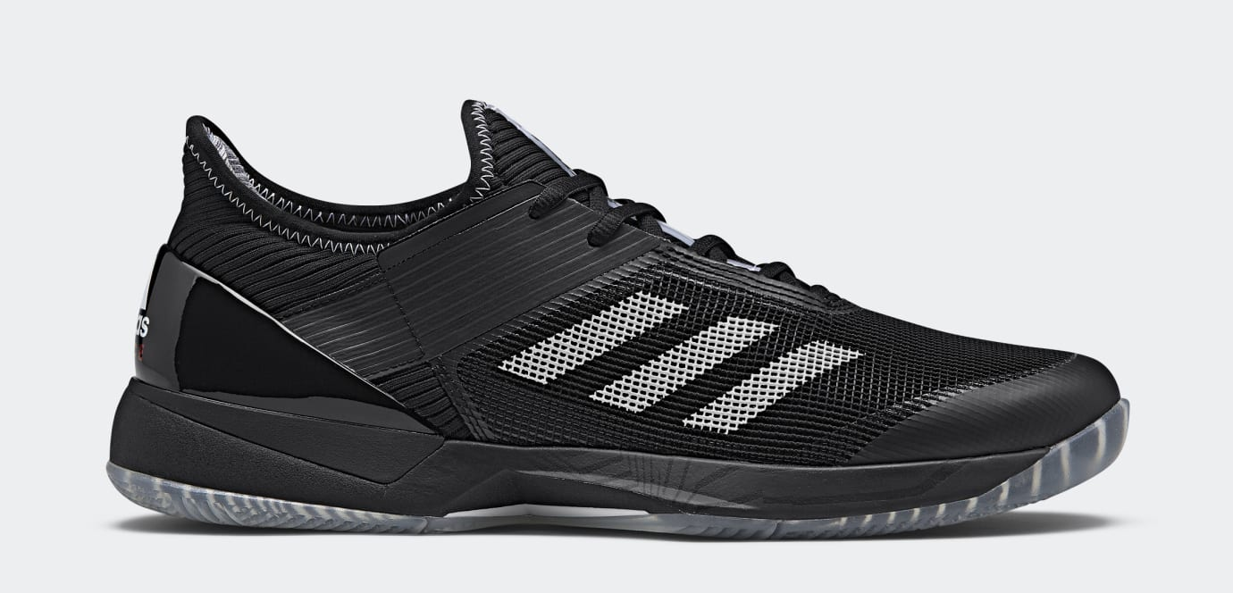 Palace x Adidas Ubersonic 3 Black CG6374 (Lateral)
