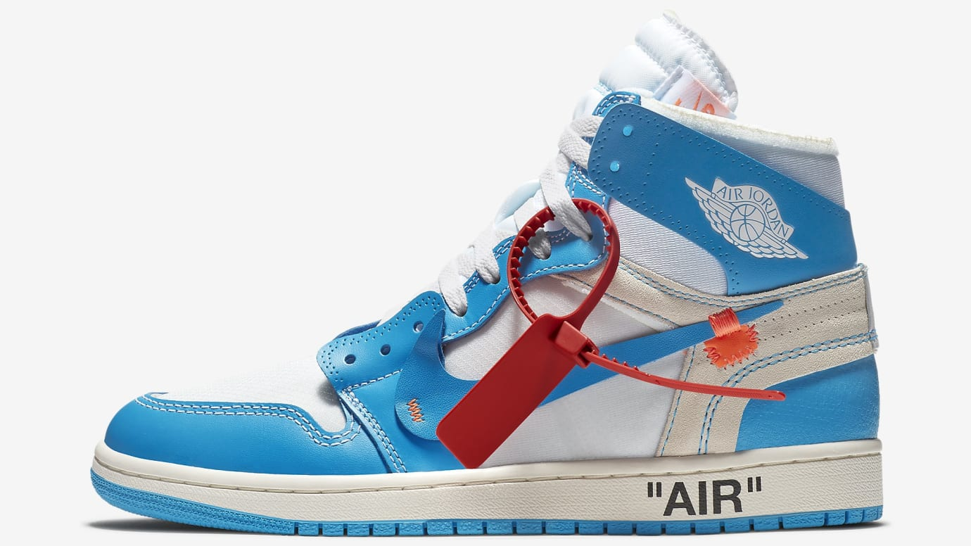 watch 03e5f e3af2 Off White Air Jordan 1 UNC