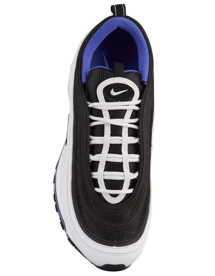 Nike Air Max 97 'White/Black/Persian Violet' 921826-103 (Top)