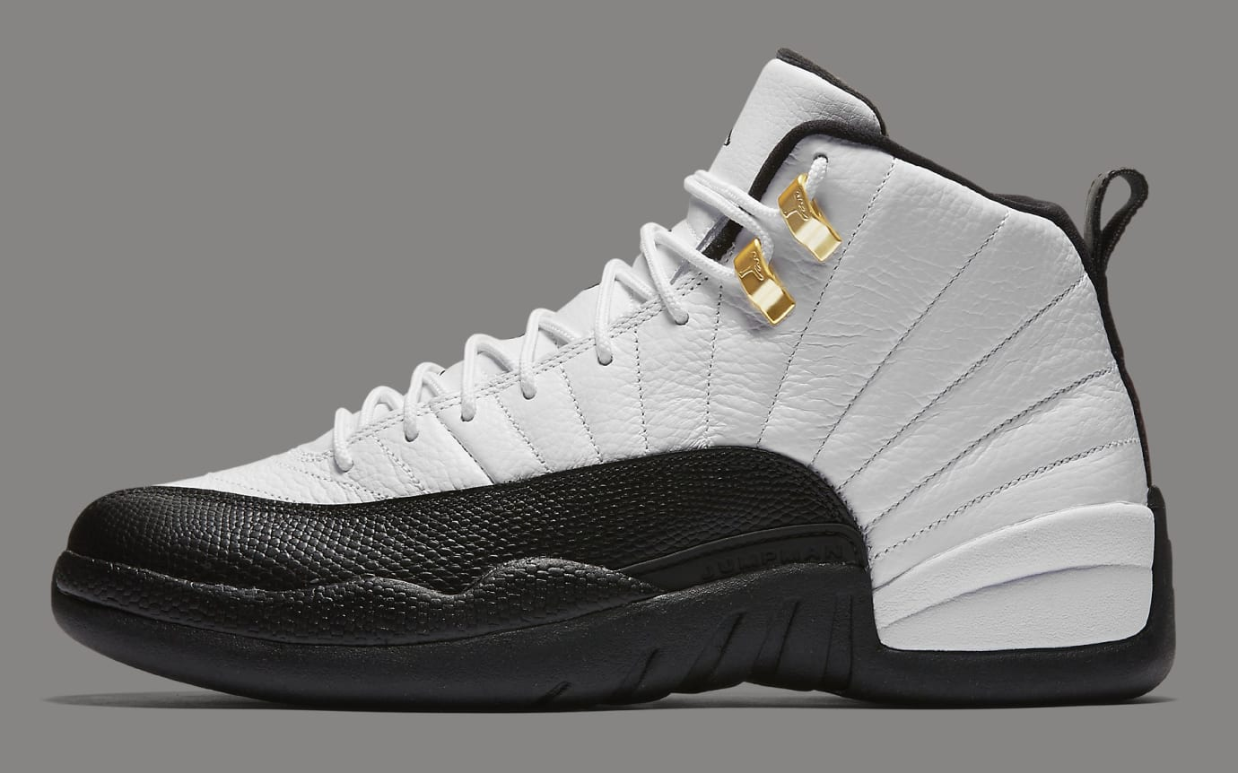 new concept 07683 1b0c8 Air Jordan 12  Taxi  130690-125 (Lateral)