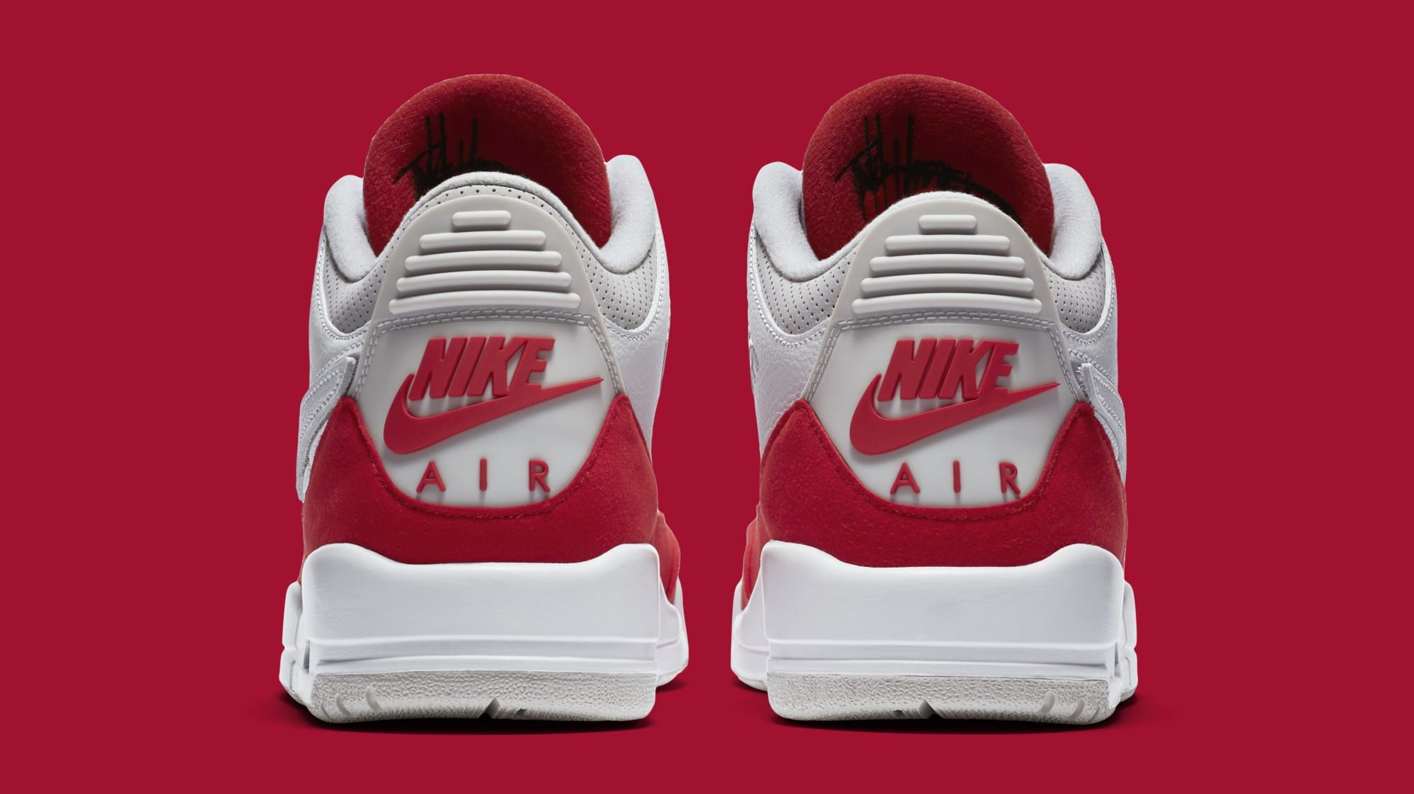 7b03ec8906 Air Jordan 3 TH SP 'Katrina' White/University Red-Neutral Grey Release Date  | Sole Collector