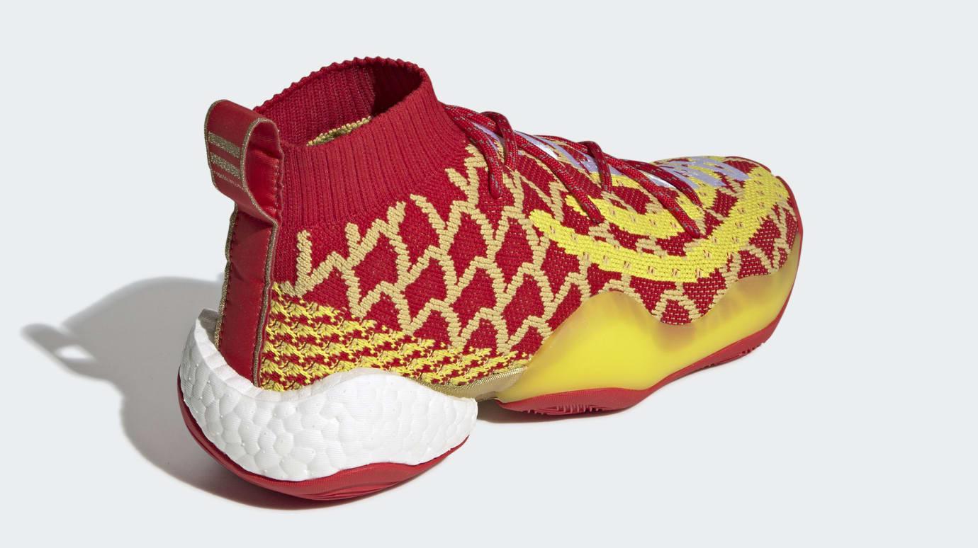 a9effe25520 Image via Adidas Pharrell x Adidas Crazy BYW  Chinese New Year  EE8688  (Heel)