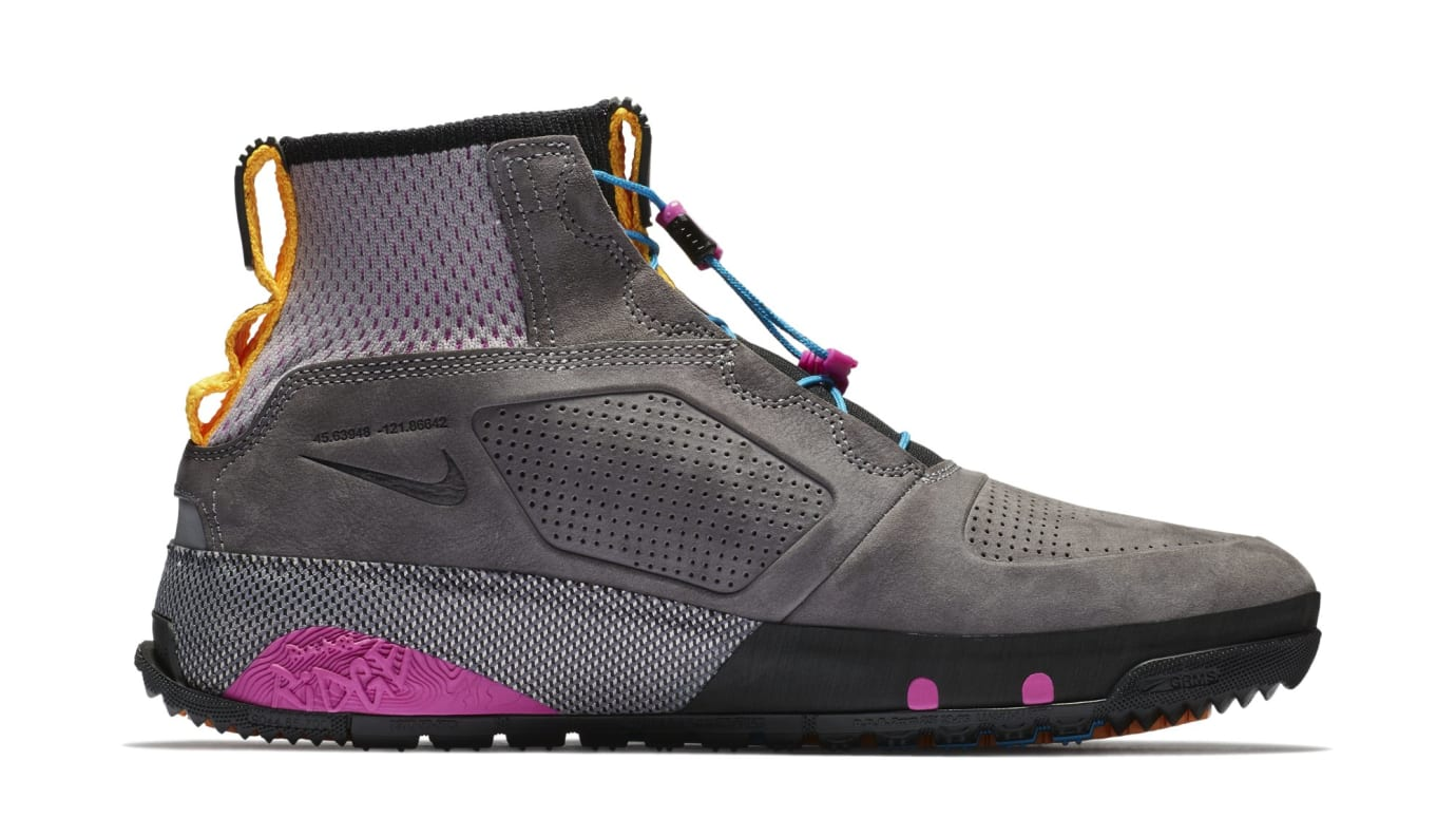 ca255780aebd2 Nike ACG Ruckel Ridge  Gunsmoke Atmosphere Grey  AQ9333-001 Release ...