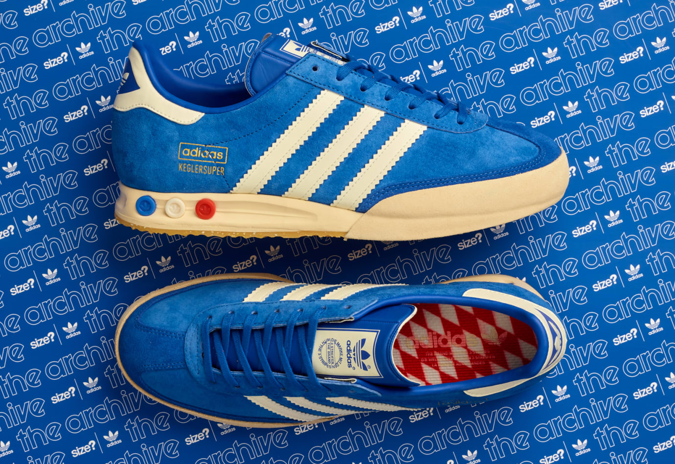 stasera tosse tassa di iscrizione  Size? Exclusive Adidas Originals Archive Kegler Super 'Beer' Release Date |  Sole Collector
