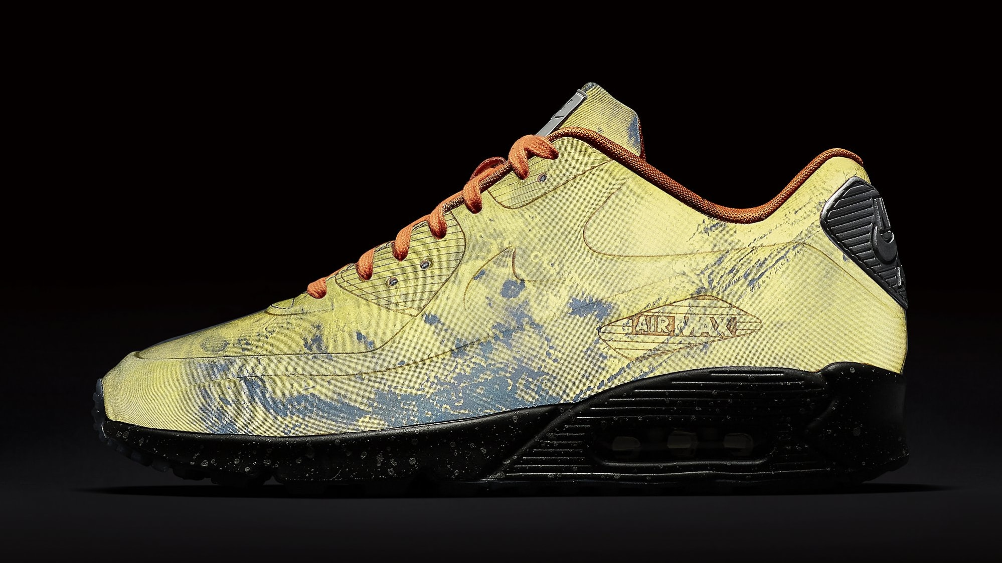 best service dd9da 0fffd Nike Air Max 90 QS 'Mars Landing' Mars Stone/Magma Orange ...