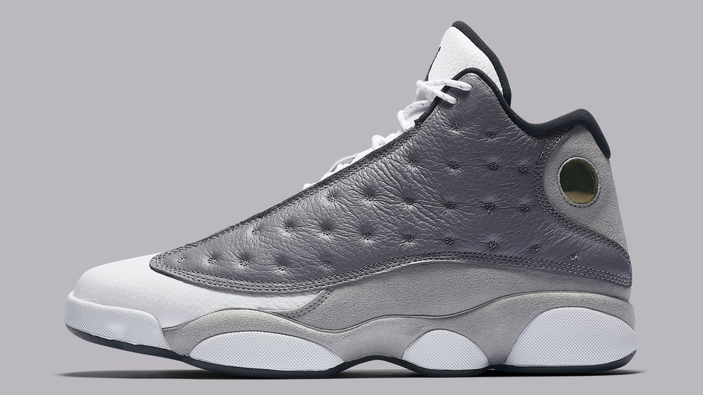 Air Jordan 13 XIII Atmosphere Grey Release Date 414571-016 Profile