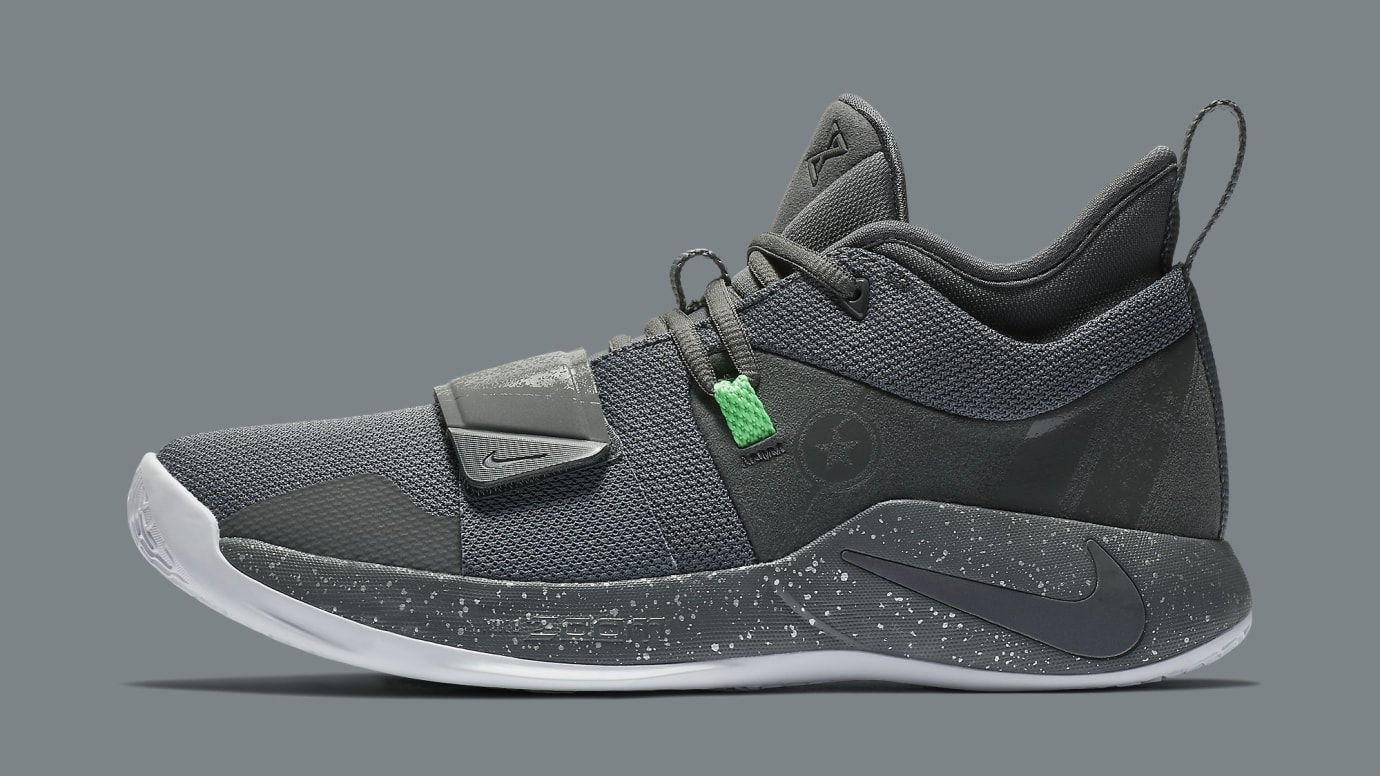 Nike PG 2.5 Grey Green Release Date BQ8452-007 Profile