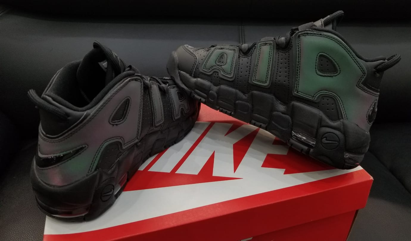 Nike Air More Uptempo GS 'Reflective' 922845-001 (Pair)