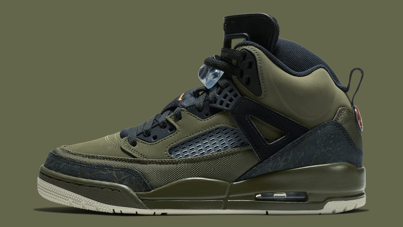 Jordan Spizike Undefeated Olive Green Release Date 315371-300 Profile