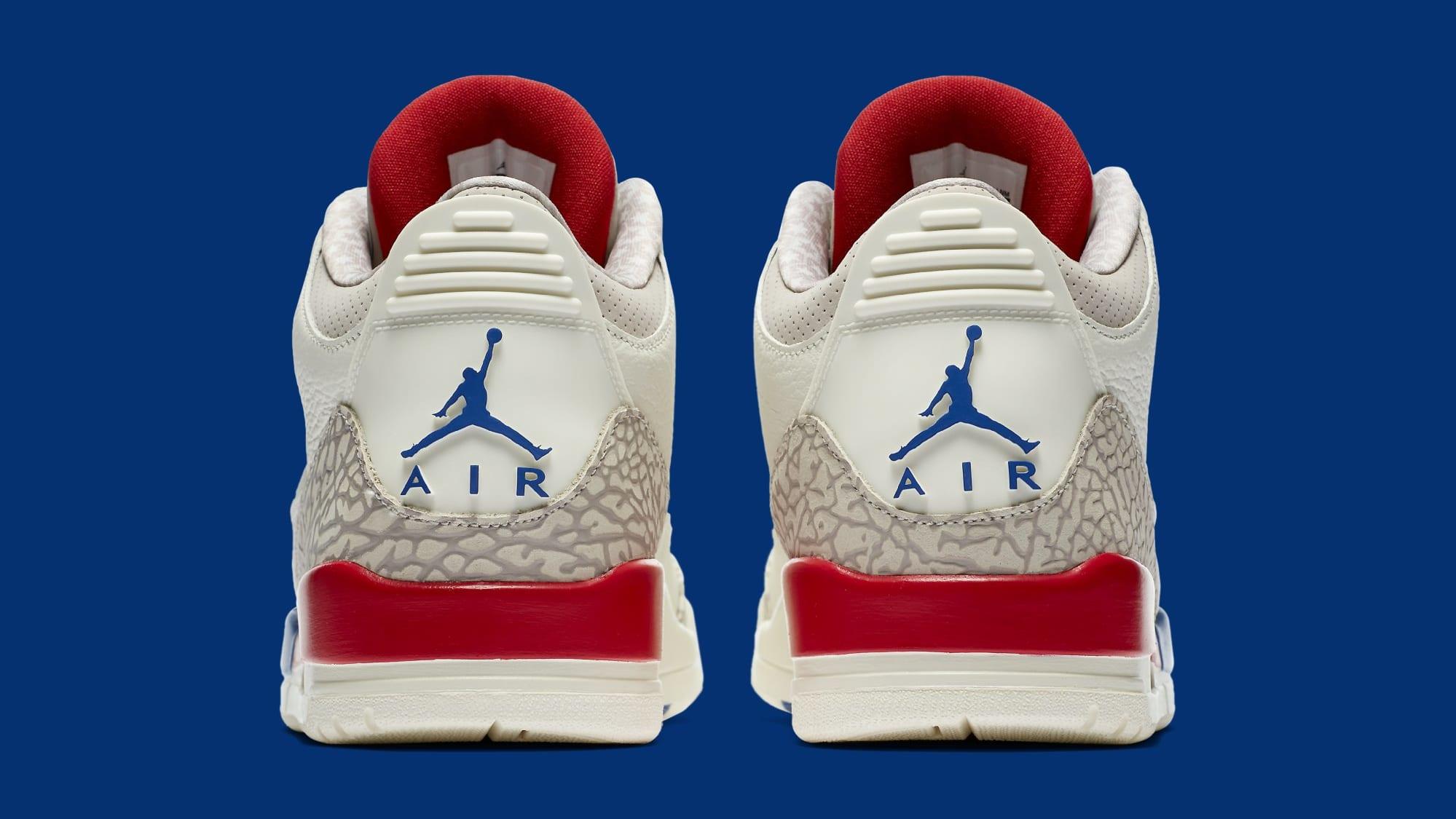 Air Jordan 3 'International Flight' 136064-140 (Heel)