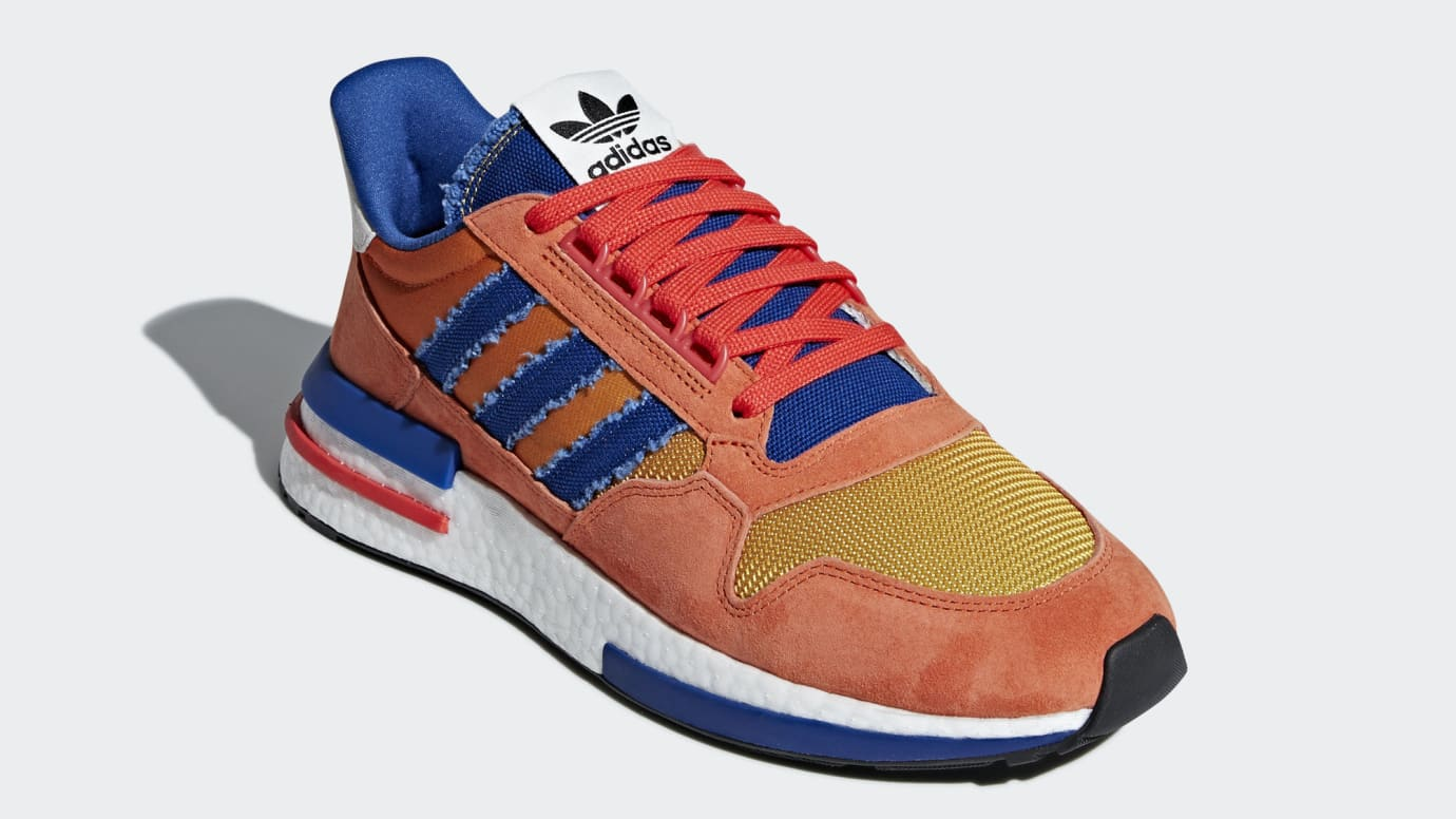 new product 4eb87 83167 Adidas First Dragon Ball Z Sneakers Drop This Month