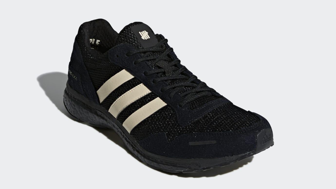 best website 12f81 d6f95 Undefeated x Adidas Adizero Adios 3 B22483 (Front)