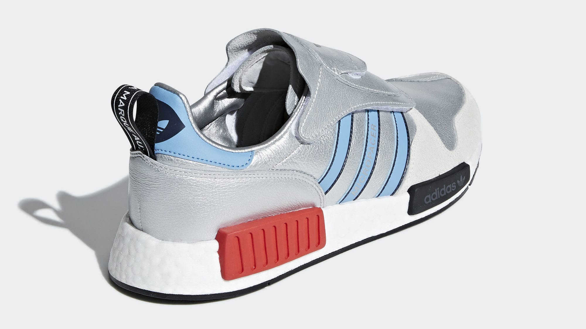 Adidas Micropacer NMD R1 Silver Release Date G26778 Back