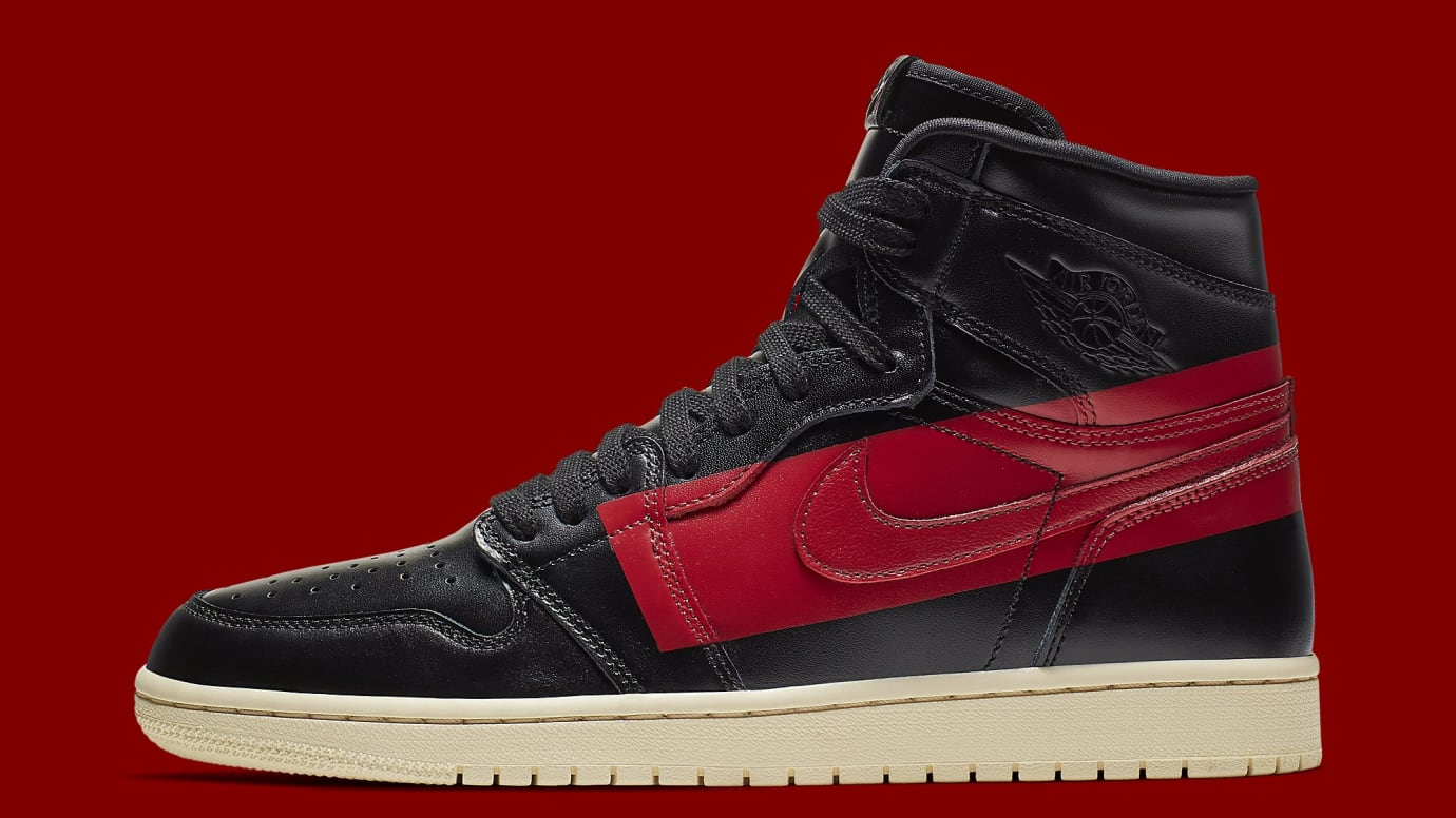 752a85d40fbe7c Air Jordan 1 High OG Defiant  Black Gym Red Muslin  Release Date ...