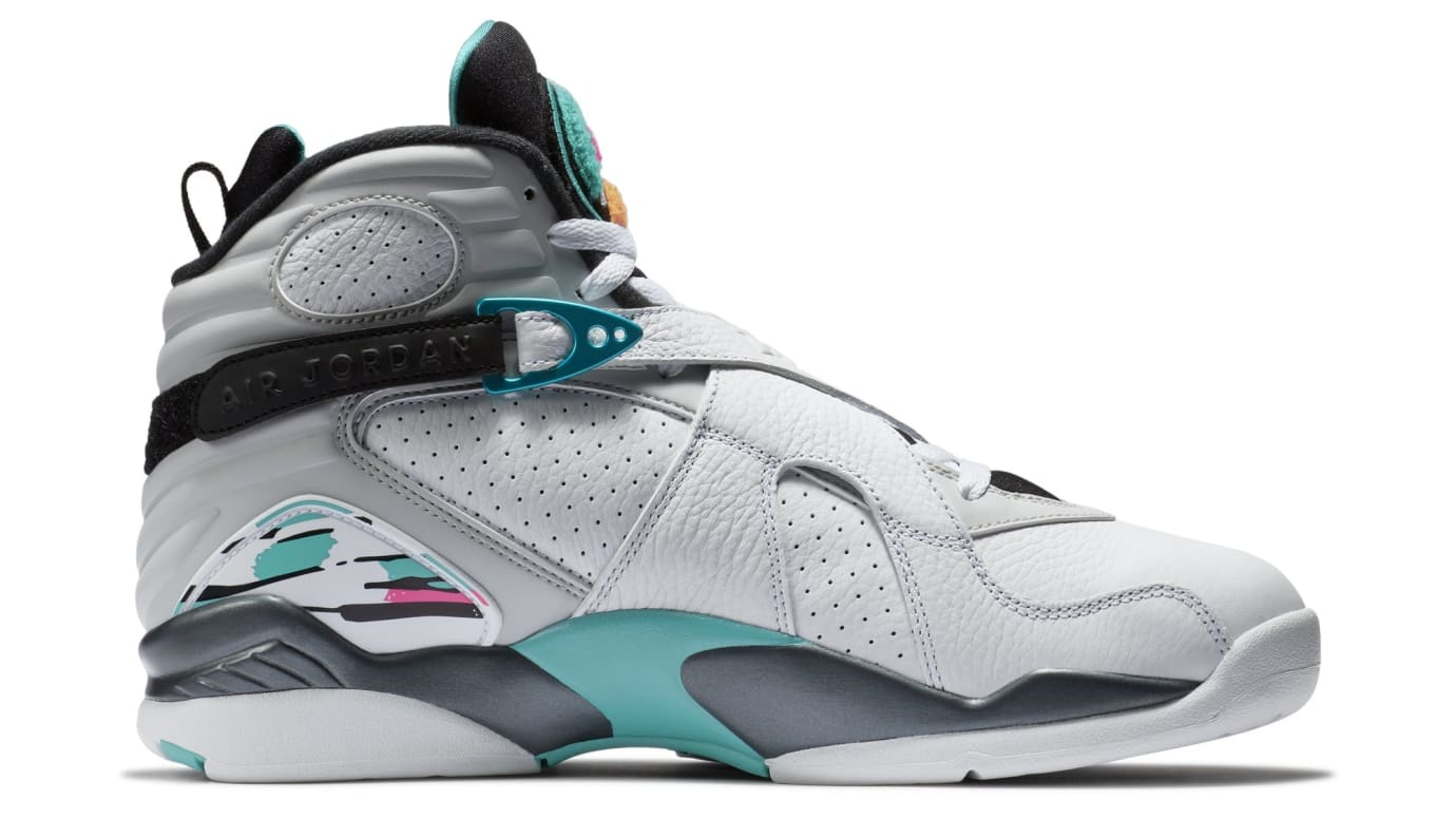 74cc4267f14028 Air Jordan 8 VIII South Beach Release Date 305381-113