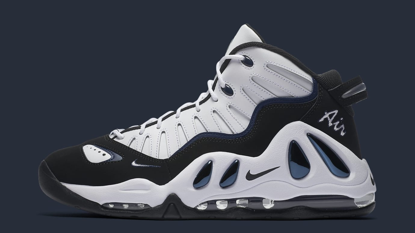 7f336d42b6 Nike Air Max Uptempo 97 White Black College Navy Release Date 399207 ...