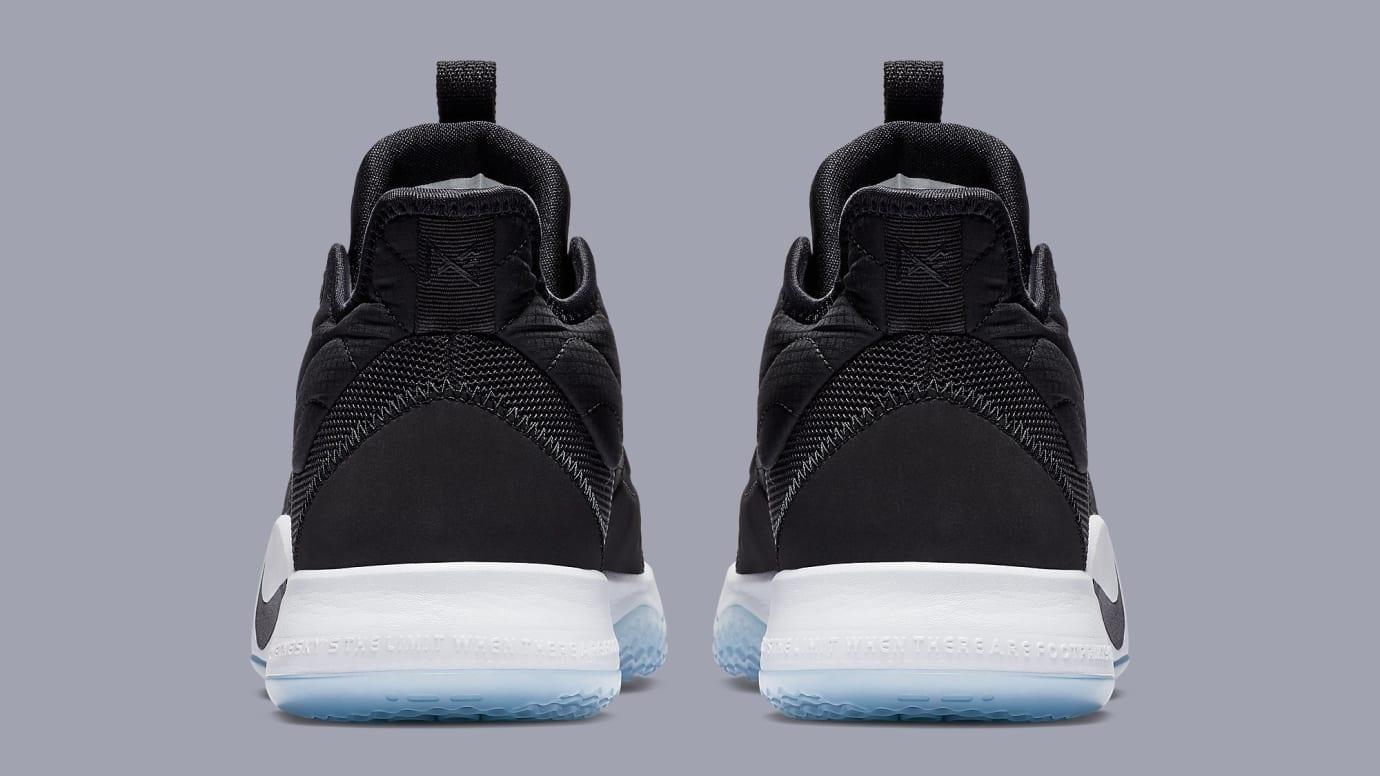 Nike PG 3 'Black/White-Laser Fuchsia' AO2607-001 Heel