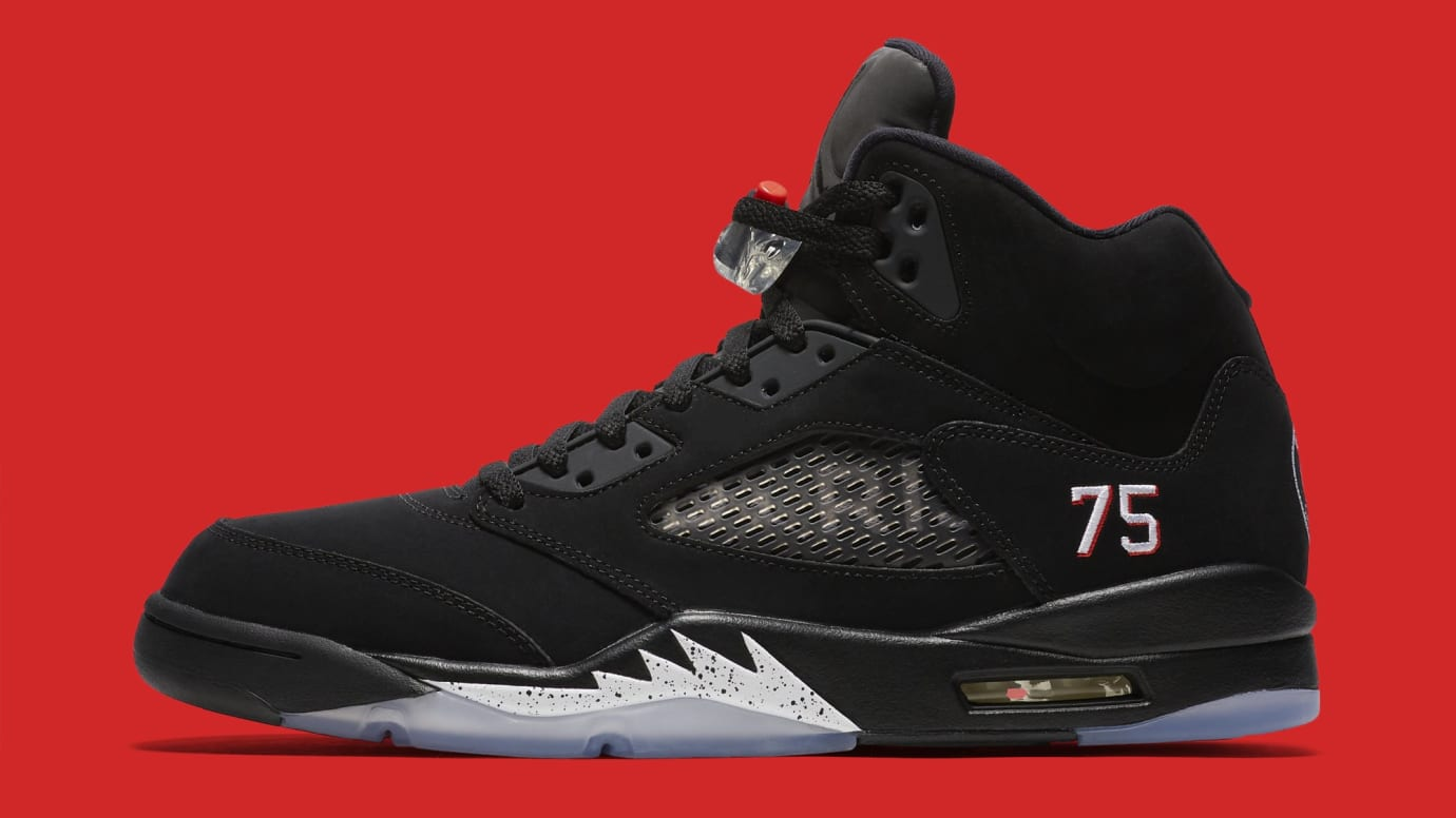 hot sale online ee1a8 2a465 Air Jordan 5 Retro 'Paris Saint-Germain' Images | Sole Collector