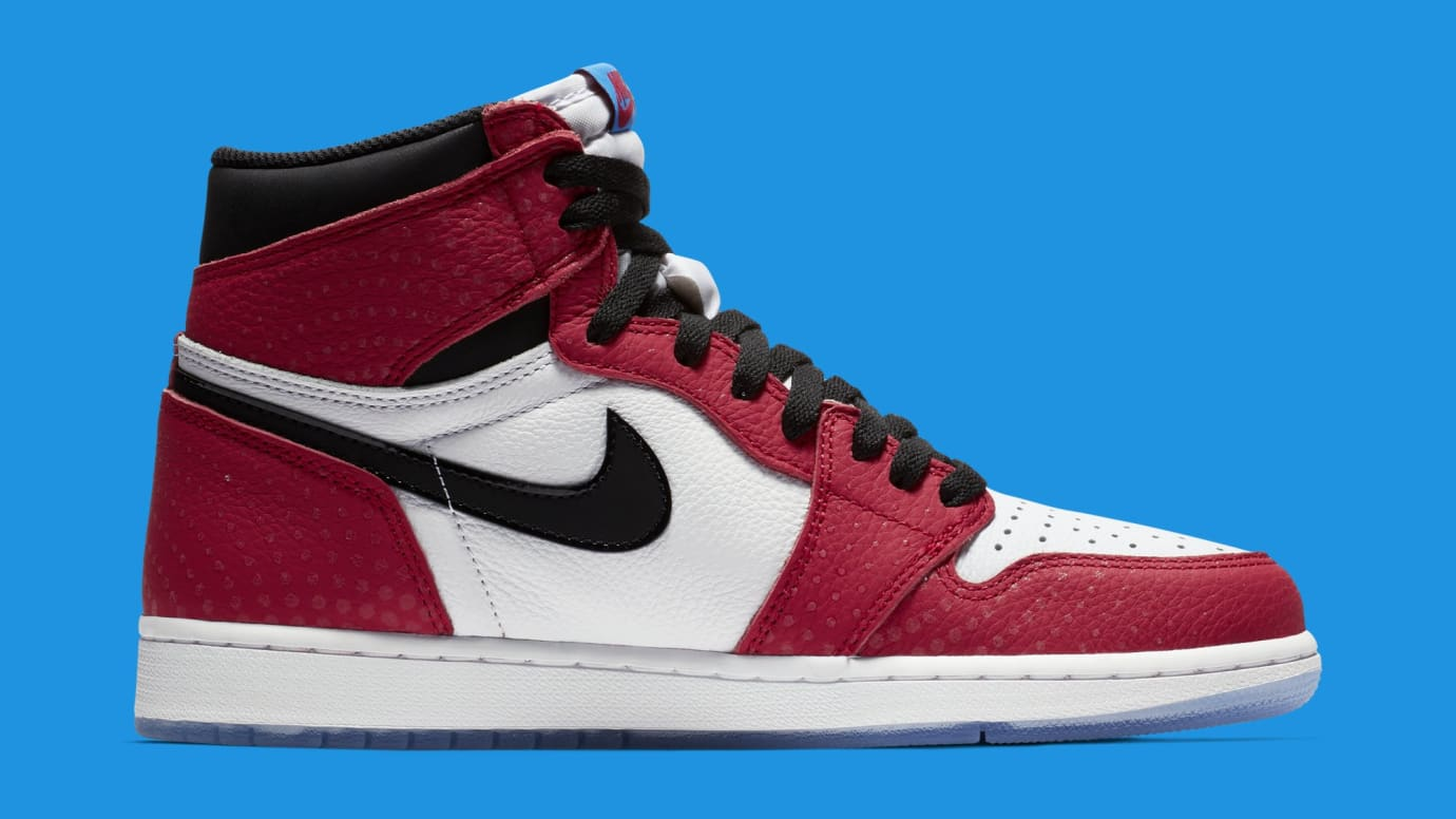 Image via Nike Air Jordan 1  Origin Story  Red White-Photo Blue-Black 555088 9379ea3ca2
