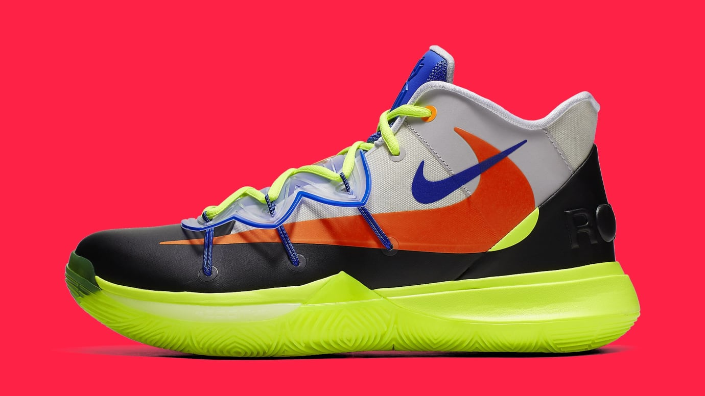 b72ed24347e ROKIT x Nike Kyrie 5  All-Star  CJ7853-900 Lateral