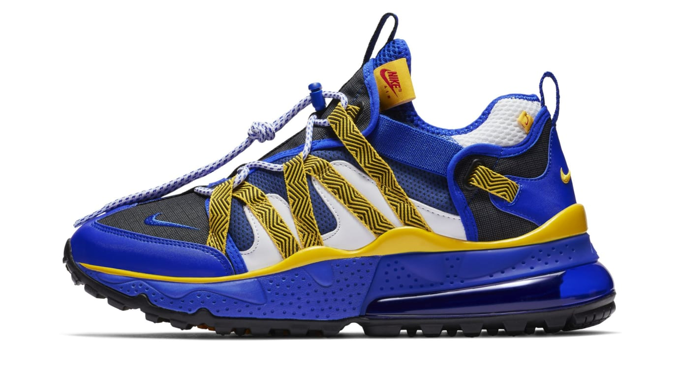 nice shoes 5d979 3589d Nike Air Max 270 Bowfin  Golden State Warriors