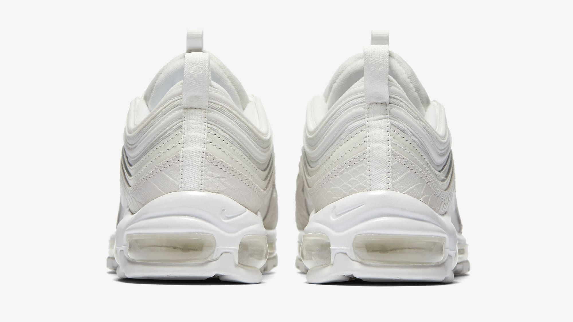 The Nike Air Max 97 Is Releasing In A White Snakeskin Colorway