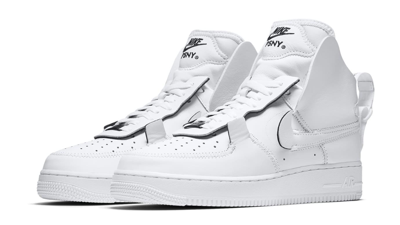 new styles 52f5a 7cf0c Image via Nike PSNY x Nike Air Force 1 AO9292-101 Pair