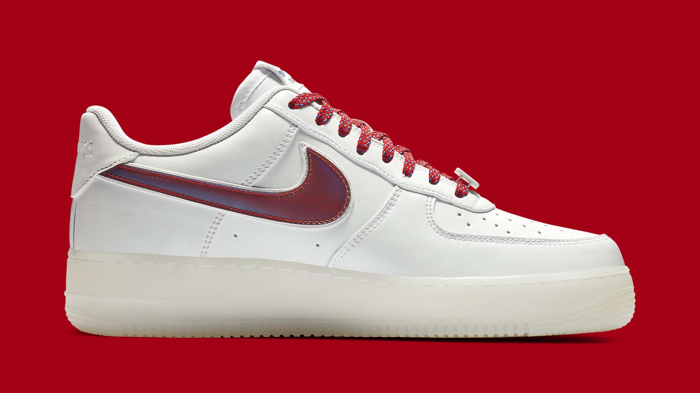 new products d2a95 64a9f Image via Nike Nike Air Force 1 Low De Lo Mio Release Date BQ8448-100 Medial
