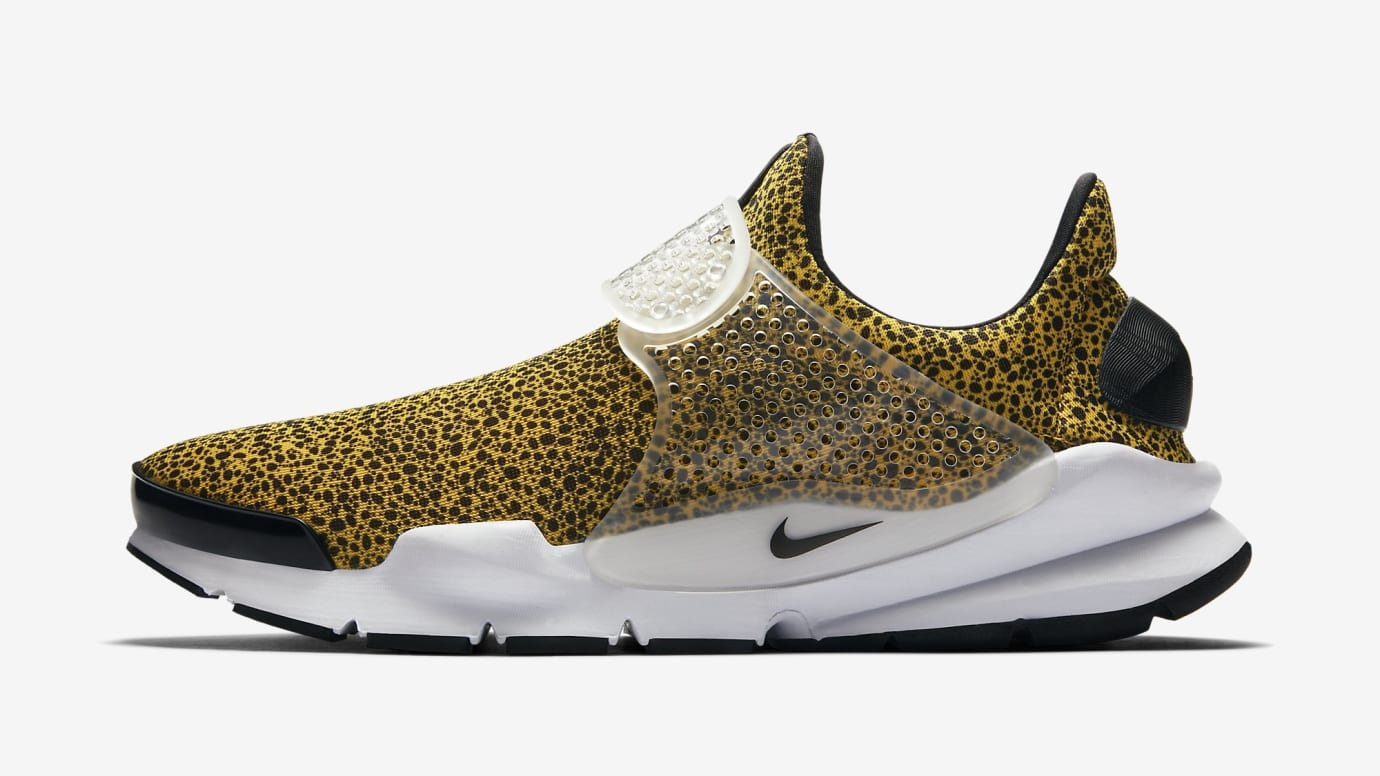 """Nike Sock Dart """"Safari"""" Turbo University/Black-White"""