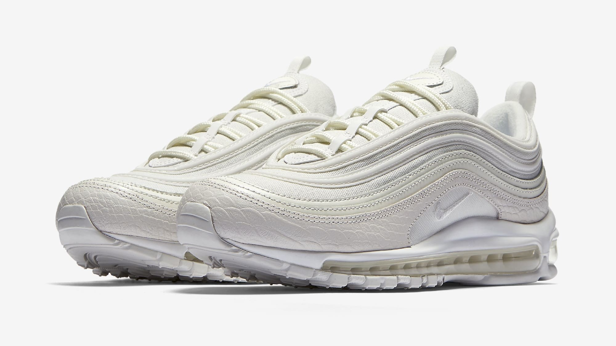 nike air max 97 white men's sneakers